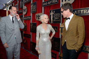 Helen Mirren Taylor Hackford 22nd Annual Screen Actors Guild Awards - Red Carpet