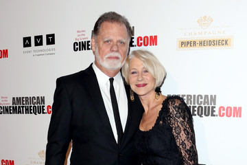 Helen Mirren Taylor Hackford Arrivals at the American Cinematheque Award Ceremony