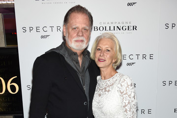Helen Mirren Taylor Hackford 'Spectre' Pre-Release Screening Hosted By Champagne Bollinger With The Cinema Society - Arrivals