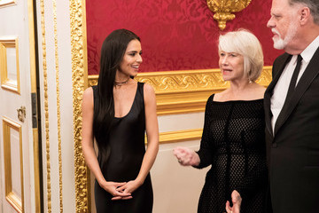 Helen Mirren Taylor Hackford The Prince of Wales' Invest in Futures Reception for the Prince's Trust