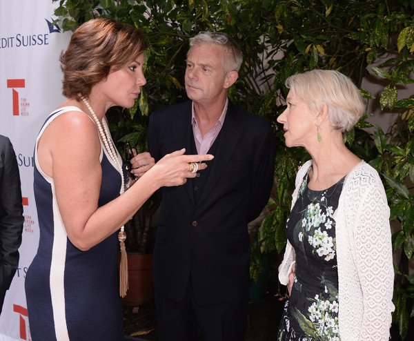 Tina Brown, Diane Von Furstenberg, and Pamela Thomas-Graham Celebrate Tony Nominated Director Stephen Daldry