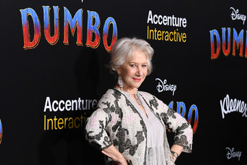 Helen Mirren Premiere Of Disney's 'Dumbo' - Arrivals