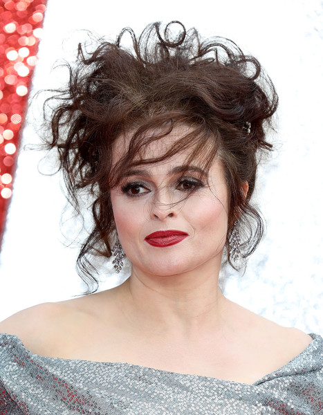 'Ocean's 8' UK Premiere - Red Carpet Arrivals [hair,human hair color,beauty,hairstyle,eyebrow,lip,black hair,layered hair,hair coloring,brown hair,red carpet arrivals,helena bonham carter,ocean,uk,england,london,cineworld leicester square,premiere,uk premiere]