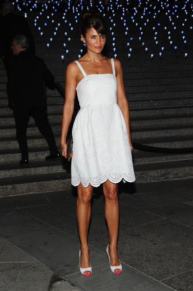 Helena Christensen - Vanity Fair Party - 2012 Tribeca Film Festival