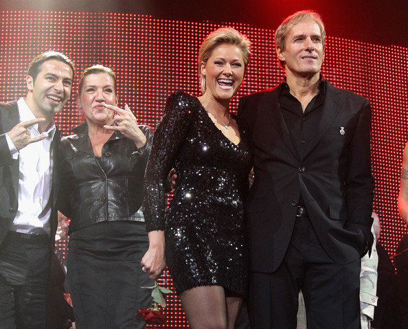 Helene Fischer with rumored lover Michael Bolton
