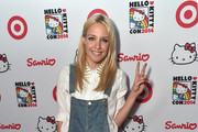 Singer Eden XO (Jessie Malakouti) arrives to Hello Kitty Con 2014 Opening Night Party Co-hosted by Target on October 29, 2014 in Los Angeles, California.