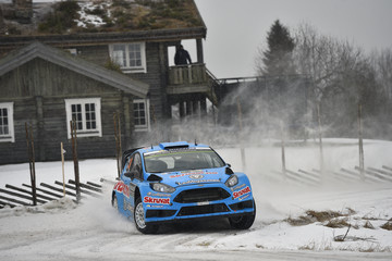 Henning Solberg FIA World Rally Championship Sweden - Day One