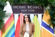 Louise Roe attends the Henri Bendel Surf Sport 2018 Collection Launch at The Bungalow on April 27, 2018 in Santa Monica, California.