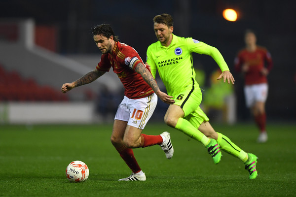 Nottingham Forest v Brighton and Hove Albion - Sky Bet Championship