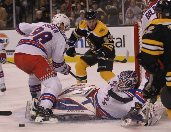 new york rangers henrik lundqvist. New York Rangers v Boston
