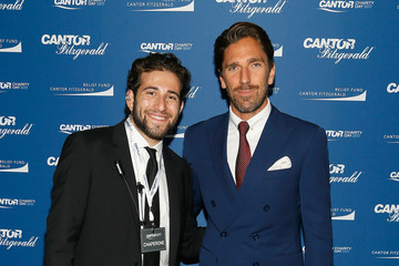 Henrik Lundqvist Annual Charity Day Hosted By Cantor Fitzgerald, BGC and GFI - Cantor Fitzgerald Office - Arrivals