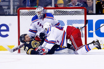Henrik Lunqvist New York Rangers v Boston Bruins