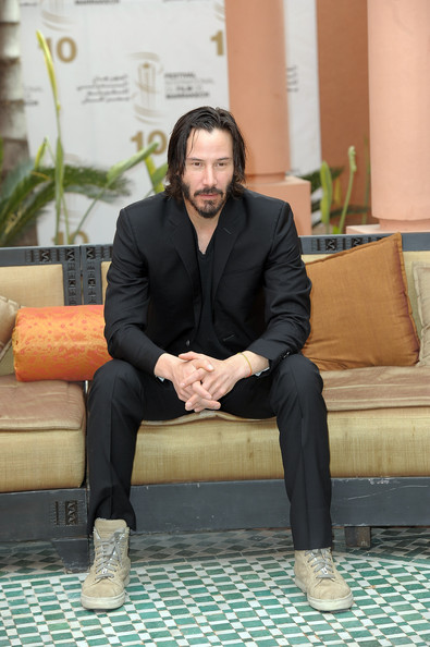 Actor Keanu Reeves poses for a Photocall during the 10th Marrakech Film Festival on December 4, 2010 in Marrakech, Morocco.