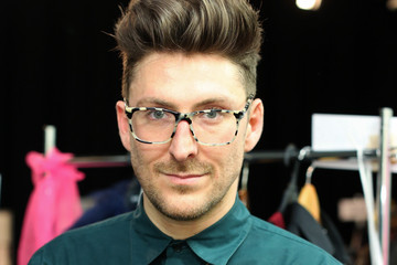 Henry Holland Backstage at House of Holland