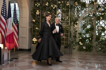 Henry Kravis Trump And First Lady Hosts State Dinner For French President Macron And Mrs. Macron