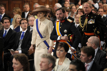 Hereditary Grand Duchess Stephanie Inauguration of King Willem-Alexander
