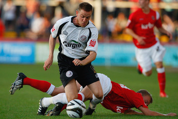 Lee Morris Hereford United v Charlton Athletic - Carling Cup