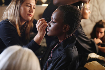 Herieth Paul Backstage With Maybelline New York