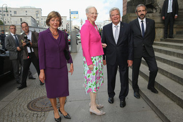 Hermann Parzinger Queen Margrethe II Of Denmark Visits Berlin - Day 1