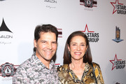 Chris Ciaffa and mimi Rogers attend Heroes For Heroes: Los Angeles Police Memorial Foundation Celebrity Poker Tournament at Avalon Hollywood on November 10, 2018 in Los Angeles, California.
