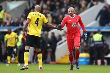 Heurelho Gomes Millwall v Watford - The Emirates FA Cup Fourth Round