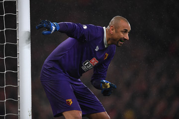Heurelho Gomes Arsenal v Watford - Premier League