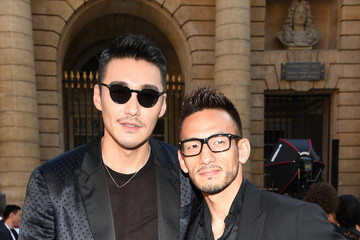Hidetoshi Nakata Berluti: Front Row - Paris Fashion Week - Menswear Spring/Summer 2018