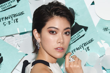 Hikari Mori Tiffany & Co. Paper Flowers Event And Believe In Dreams Campaign Launch