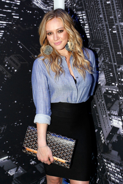 Hilary Duff Photos Photos - Around Bryant Park - Day 3 ...