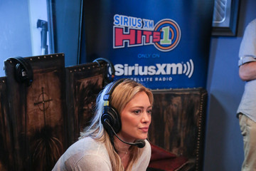 Hilary Duff SiriusXM Hits 1's The Morning Mash-Up Broadcast: Day 3