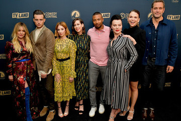 Hilary Duff Nico Tortorella Comedy Central, Paramount Network And TV Land Summer Press Day In L.A.