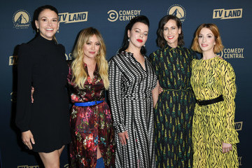Hilary Duff Sutton Foster L.A. Press Day For Comedy Central, Paramount Network, And TV Land