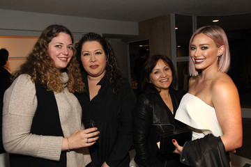 Hilary Duff Albright Fashion Library LA launch hosted by Tara Swennen and Jeff K. Kim