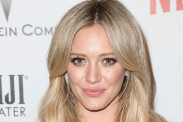 Hilary Duff Weinstein Company and Netflix Golden Globes Party