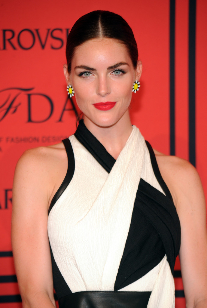 Hilary Rhoda - Arrivals at the CFDA Fashion Awards