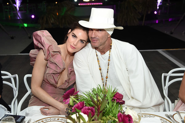 Vladimir Restoin Roitfeld And Hilary Rhoda Attend L'Eden By Perrier-Jouët To Celebrate Launch Of CR WOMEN 2019