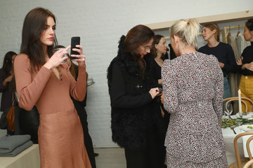 Hilary Rhoda Jenni Kayne Celebrates Tribeca Boutique With Amy Astley, Meredith Melling and Kate Young