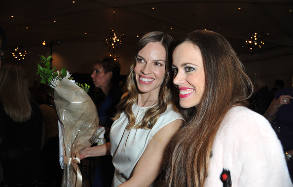 "Montblanc And UNICEF Celebrate The Launch Of Their New ""Signature For Good 2013"" Initiative At A Pre-Oscar Charity Brunch With Special Guest Hilary Swank"
