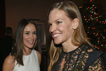 Hilary Swank Audi Celebrates The Holidays In Aspen And Snow Polo 2014