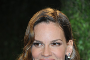 Hilary Swank 2013 Vanity Fair Oscar Party Hosted By Graydon Carter - Arrivals