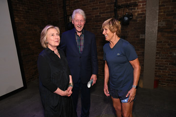 Hillary Clinton Bill Clinton Audible Celebrates 'The Swimmer: The Diana Nyad Story'