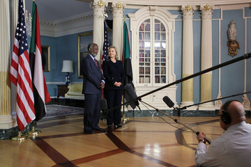 Ali Ahmed Karti Hillary Clinton Meets With Sudanese Foreign Minister
