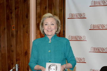 Hillary Clinton Hillary Rodham Clinton Signs Copies of Her New Book