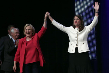 Hillary Clinton Hillary Clinton Campaigns with Alison Lundergan Grimes