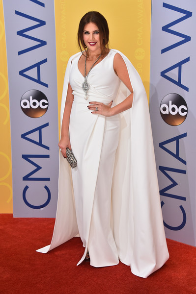 The 50th Annual CMA Awards - Arrivals [white,flooring,gown,carpet,shoulder,red carpet,girl,joint,arrivals,hillary scott,musician,singer-songwriter,cma awards,red carpet,carpet,bridgestone arena,tennessee,lady antebellum,kacey musgraves,bridgestone arena,50th annual country music association awards,51st annual country music association awards,the 50th annual cma awards,country music association awards,country music association,musician,singer-songwriter,red carpet]
