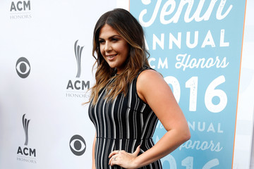 Hillary Scott 10th Annual ACM Honors - Red Carpet