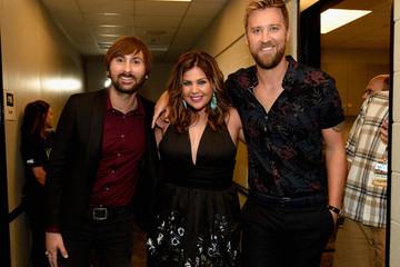 Hillary Scott 2015 CMT Music Awards - Backstage & Audience