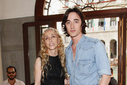 Franca Sozzani and  Daniele Cavalli attends the 'Hogan And Big Bambu' Cocktail Party during the 54th International Art Biennale on June 2, 2011 in Venice, Italy.