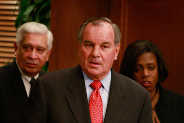 Richard M. Daley Holder And Duncan Address Youth Violence In Chicago