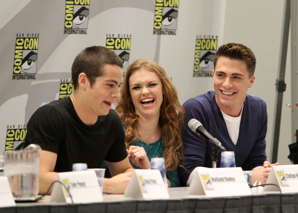 holland roden and dylan o brien dating All of the stars that have crushes on dylan o'brien holland roden — hr is one of the luckiest ladies ever, since her character, lydia britt robertson — britt and dylan have been dating since they met on the set of their.